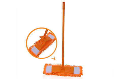 Ckent - An extendable chenille microfibre floor mop - Save 62%