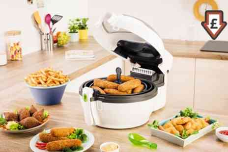 Groupon Goods Global GmbH - Tefal Actifry Plus with Snacking Rack GH847040 With Free Delivery - Save 41%