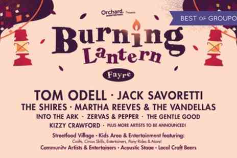 Burning Lantern Fayre - Child or adult tickets to Burning Lantern Fayre on 12 August - Save 0%