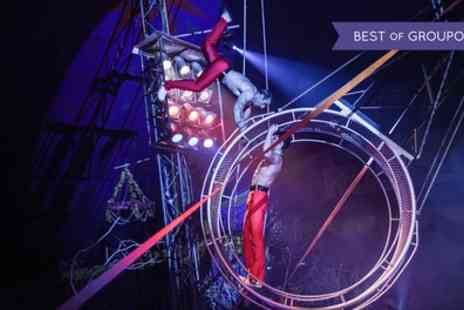 Russells International Circus - Front Circle Adult Ticket to Russells International Circus 27 April to 2 July - Save 50%