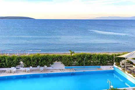 The Grove Seaside Hotel - Four Star All Inclusive Delights Overlooking The Aegean For Two - Save 39%