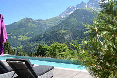Hotel National Resort & Spa - Four Star Modern Spa and Panoramic Views in the Heart of Champery For Two - Save 46%