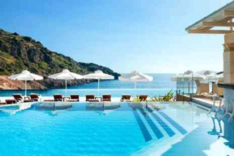 Broadway Travel - Luxury Daios Cove Holiday with Flights - Save 0%