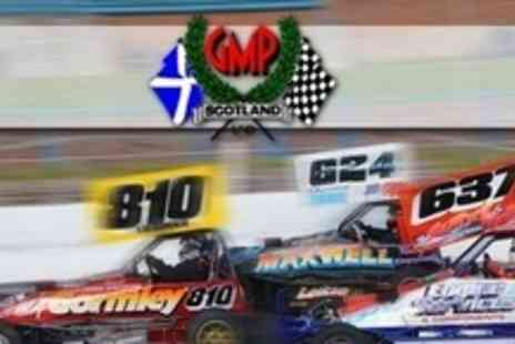 GMP Scotland - Two Adult Tickets To Stock Car Racing at The Racewall, With Burger and Drink - Save 61%