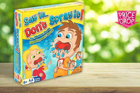 Hydes Toys & Gifts - Say it Dont Spray it game - Save 65%