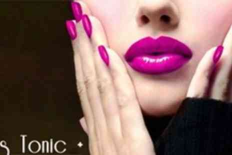 Nail Tonic Plus - Gel Nail Polish With Mini Manicure - Save 54%