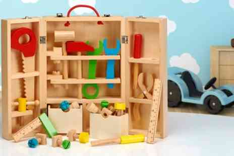 Groupon Goods Global GmbH - Wooden Carpenters Play Set - Save 43%