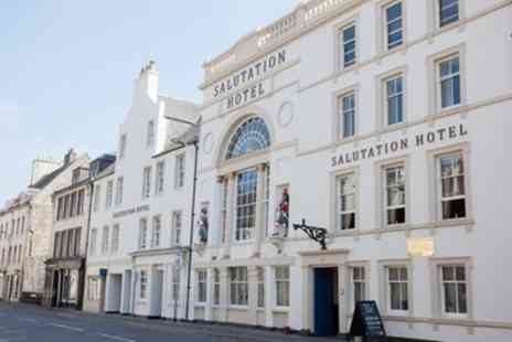 The Salutation Hotel - One Night Stay for Two with 3 Course Dinner and Fizz - Save 61%