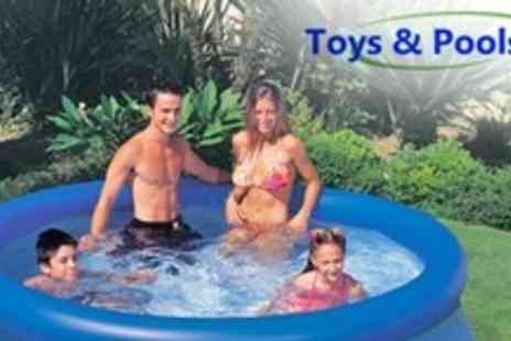 Toys and Pools - Intex Inflatable Garden Swimming Pool for One - Save 56%