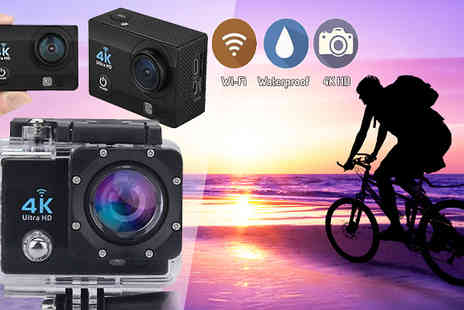 TLD Marketing - 4K HD Action Camera with Mounting Kit - Save 83%
