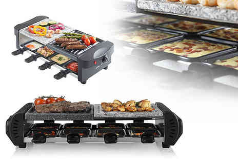 Deals Direct - Three in One cerastone raclette grill - Save 33%