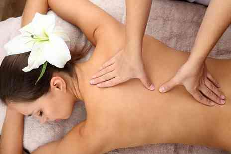 Invincible Beauty - One hour deep tissue back, neck and shoulder massage and express facial - Save 67%