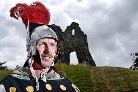 Tutbury Castle - Entry for two people to the Knights in Armour Bank Holiday event - Save 60%