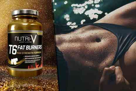 Nutri V - Two month supply of T6 Gold Edition Fat Burner tablets - Save 80%