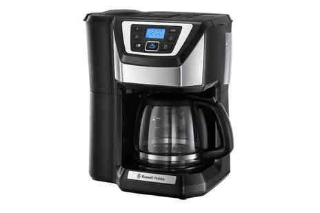 Groupon Goods Global GmbH - Russell Hobbs 22000 Coffee Machine With Free Delivery - Save 62%
