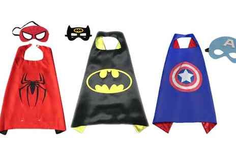 Groupon Goods Global GmbH - Childrens Superhero Cape in Choice of Style - Save 50%