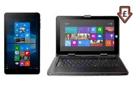 Groupon Goods Global GmbH - 8 Inch SmartPro Windows 10 Tablet PC With Free Delivery - Save 64%