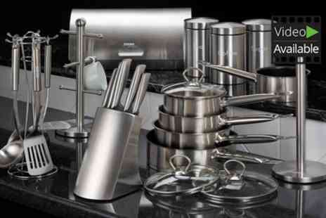 Groupon Goods Global GmbH - Cooks Professional 24 Piece Kitchen Set - Save 68%