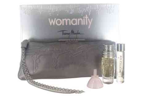 Groupon Goods Global GmbH - Thierry Mugler Womanity Eau de Toilette Set - Save 20%