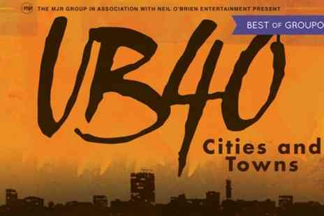 UB40 Cities & Towns Tour - Tickets to UB40 Cities & Towns Tour on 4 to 22 December - Save 0%
