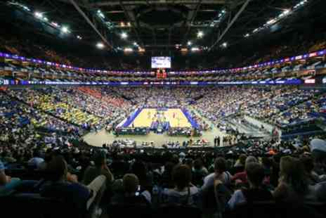 British BasketBall - Level 4A seated ticket for one child or one adults to see Basketball Play Off Finals on 14 May - Save 25%