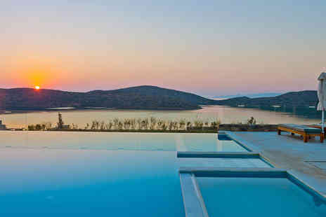 Royal Marmin Bay Boutique & Art Hotel - Five Star Eco Philosophy Overlooking Mirabello Bay - Save 40%