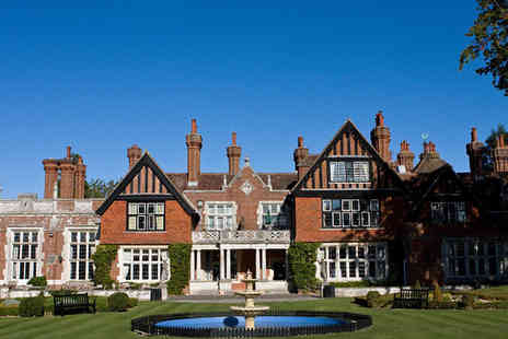 Macdonald Elmers Court Hotel - Three Star Charming New Forest Manor With Views Over the Solent Coast For Two - Save 0%