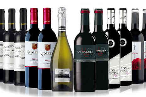 SanJamon - 6 or 12 Bottle Red Wine Collection - Save 37%