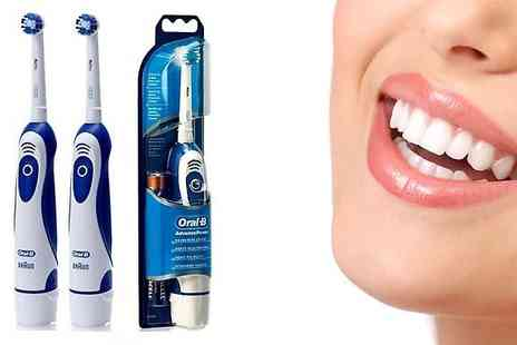 Bargain Shop - Oral B Advance Power 400 Electric Toothbrush One Or Two - Save 80%