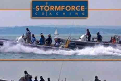 Stormforce Coaching - Jubilee Bank Holiday Flotilla Powerboat Ride For Four People - Save 55%