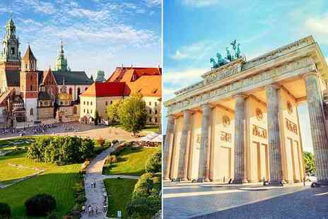 Tour Center - four night Stay Krakow and Berlin break with flights - Save 35%