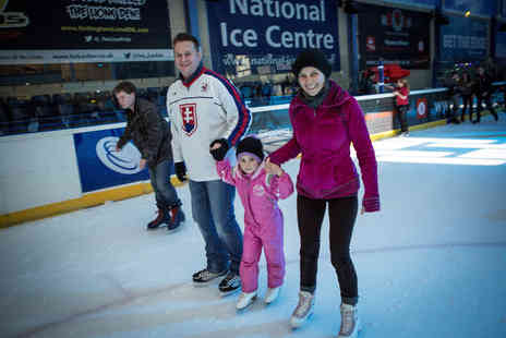 National Ice Centre - Ice skating ticket for four people - Save 63%