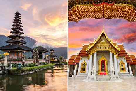 Crystal Travel - Three nights Stay Bangkok and seven night Stay Bali trip with flights - Save 27%