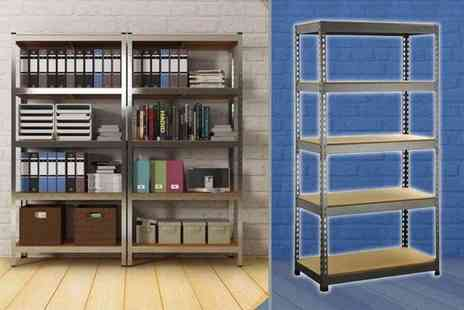 TLD Marketing - Five tier shelving unit - Save 90%