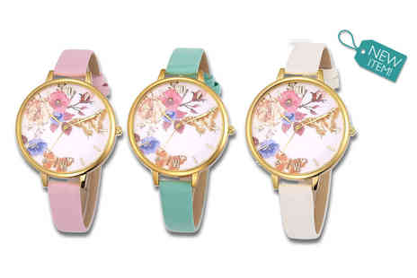 Solo Act - Ladies summer Rosie watch - Save 64%