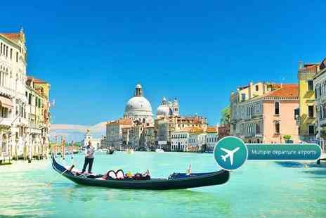 Weekender Breaks - Two nights Venice stay with flights - Save 45%