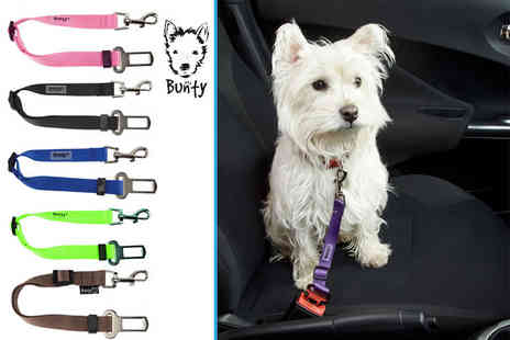 Bunty Pet Products - Pet safety travel belt - Save 20%
