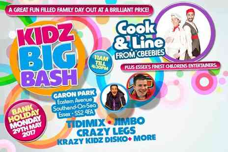 BlueMill Trading - Two tickets to the Kidz Big Bash on 29th May - Save 50%