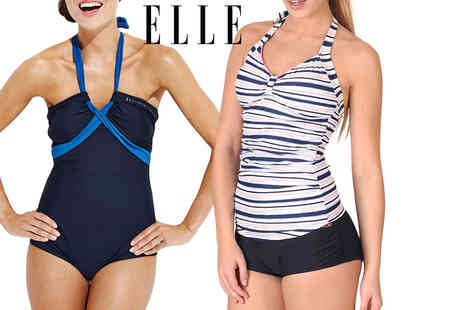 Deals Direct - Piece of Elle Sport swimwear choose from five gorgeous styles - Save 60%
