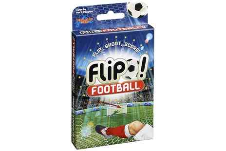 Groupon Goods Global GmbH - Drumond Park Flip Football Card Game - Save 50%