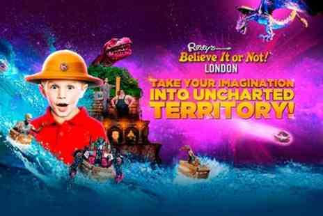 Ripleys Believe It or Not - One ticket to Ripleys Believe It or Not on 21 April To 31 May - Save 46%