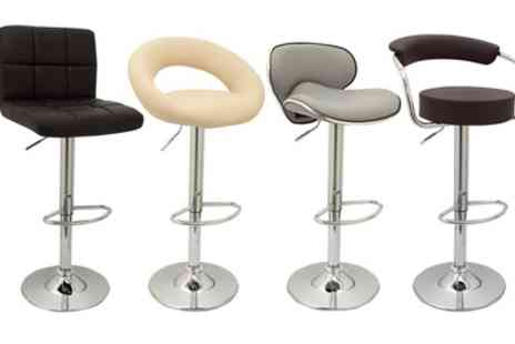 Groupon Goods Global GmbH - Two or Four Bar Stools in Choice of Design and Colour - Save 50%