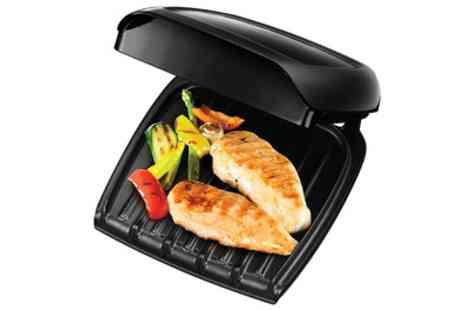 Groupon Goods Global GmbH - George Foreman 18850 Compact Grill in Black - Save 50%