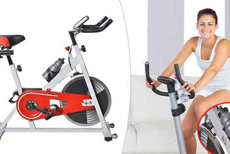 MHStar Uk - Magnetic Flywheel Exercise Bike with Free Water Bottle - Save 0%
