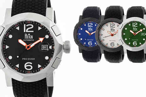 Ideal Deal - Reign Tudor Mens Automatic Pro Diver Watch in 6 Designs - Save 89%
