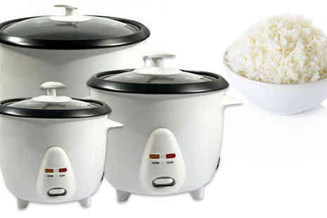 Direct 2 public - Non Stick Automatic Electric Rice Cooker in 3 Sizes - Save 44%
