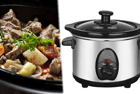Direct 2 public - 1.5L Stainless Steel Slow Cooker - Save 70%