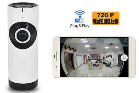 Black Sheep - HD Fish Eye Wi Fi Camera - Save 76%
