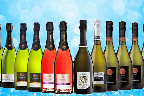 SanJamon - 12 Bottle Cuvee, Cava and Prosecco Collection - Save 52%