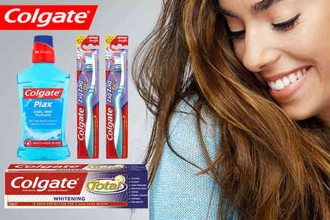 Zenith Wholesale - Complete Colgate teeth whitening bundle - Save 73%